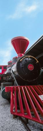 Locomotive at the Chattanooga Choo Choo, Chattanooga, Tennessee, USA