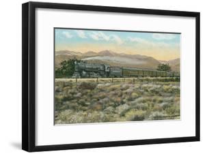 Locomotive by Indian Head Mountain, Arizona