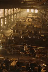 Locomotive Factory Floor