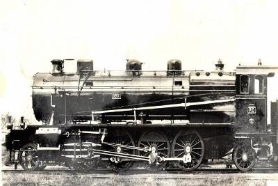 Locomotive Francaise, D 51, Machine 5801, Schmidt,1915--Giclee Print