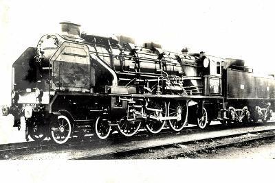 Locomotive Francaise, D 59, Serie 231722, 1934--Giclee Print