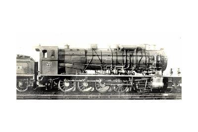 Locomotive Francaise, P.O. Midi, D 47, Machine 6003--Giclee Print