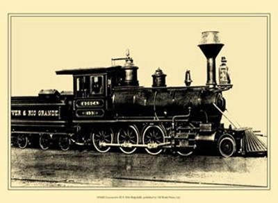 Locomotive III--Art Print