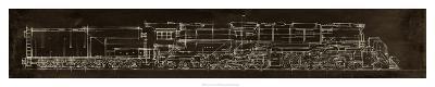 Locomotive Schematic-Ethan Harper-Giclee Print
