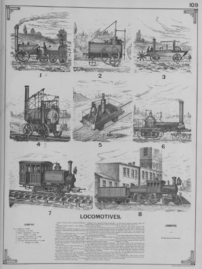 Locomotives--Giclee Print