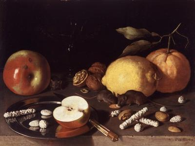 Still Life with Mice, 1619 by Lodewik Susi