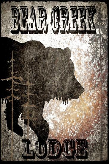 Lodge Bear Creek Lodge-LightBoxJournal-Giclee Print