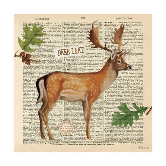 Lodge Collage III-Katie Pertiet-Art Print