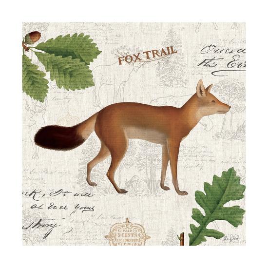 Lodge Collage VI-Katie Pertiet-Art Print
