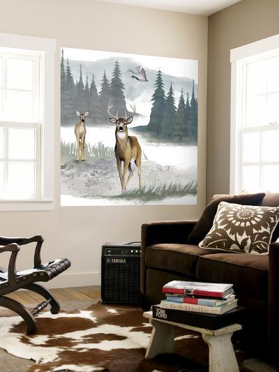 Lodge Landscape II-Grace Popp-Wall Mural