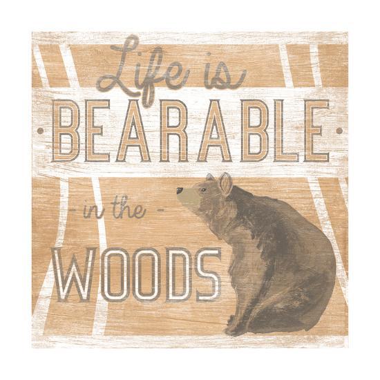 Lodge Life III-June Vess-Art Print