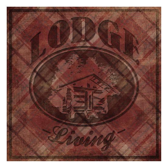 Lodge Life-Jace Grey-Art Print
