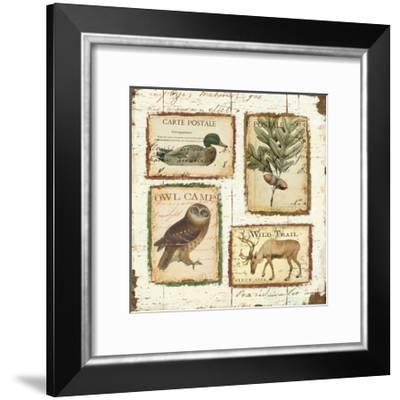 Lodge Memories I-Pela Design-Framed Premium Giclee Print