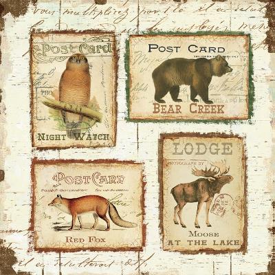 Lodge Memories II-Pela Design-Premium Giclee Print