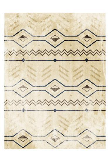 Lodge Patterned-Jace Grey-Art Print