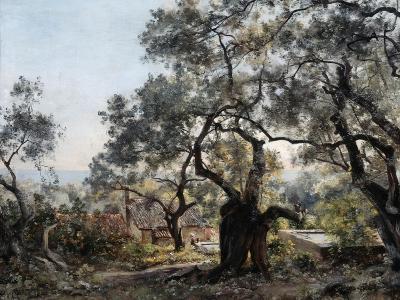 Lodola, Close to Menton, 1892-Emmanuel Lansyer-Giclee Print