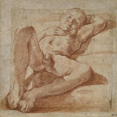 Study of a Nude Boy