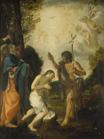 The Baptism of Christ by Lodovico Carracci