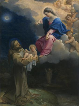The Vision of Saint Francis, C.1602