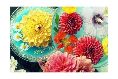 Loevly Table Blossoms-Alaya Gadeh-Art Print
