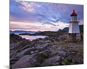 Lofoten Coast Lighthouse Norway