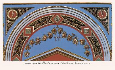 Loggia in the Vatican II (detail)-Raphael-Art Print