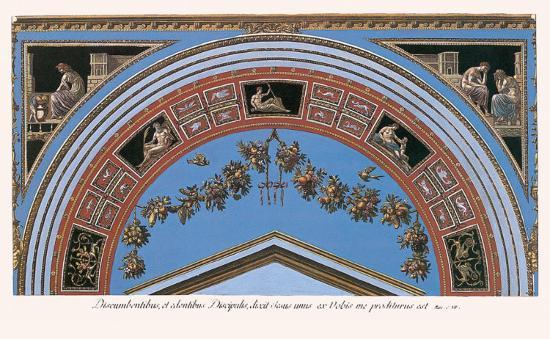 Loggia in the Vatican IV (detail)-Raphael-Art Print