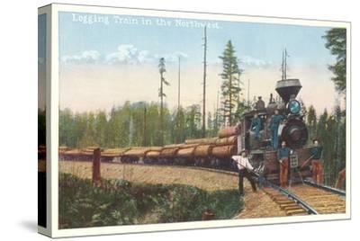 Logging Train in the Northwest