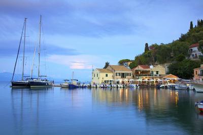 Loggos Harbour, Paxos, the Ionian Islands, Greek Islands, Greece, Europe-Neil Farrin-Photographic Print