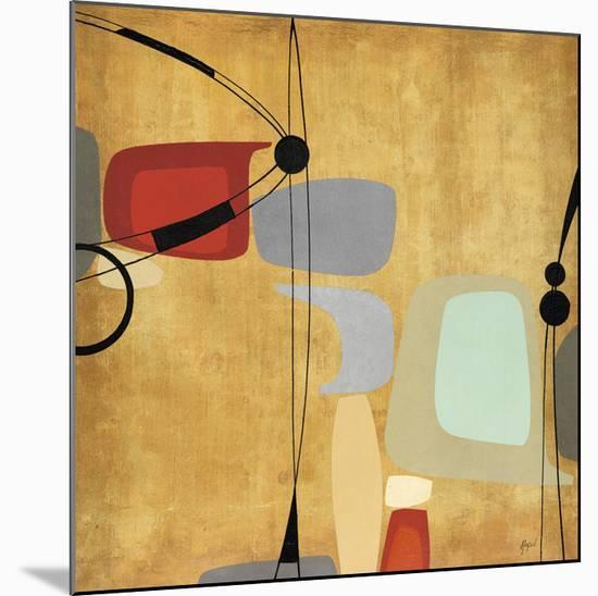 Logic and Balance I-Danielle Hafod-Mounted Giclee Print