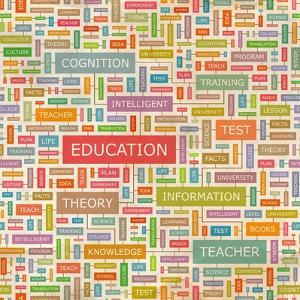 Education Word Collage by Login