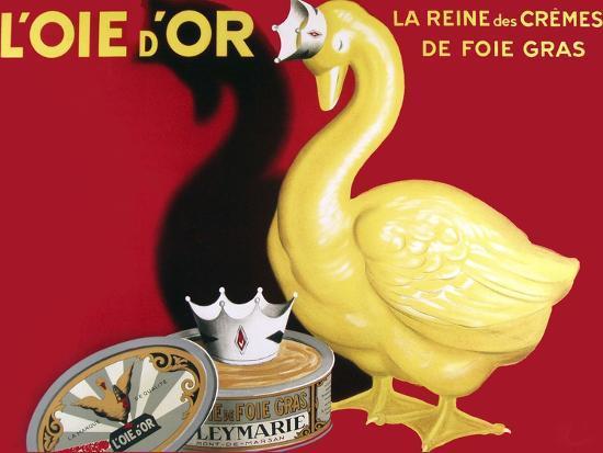 Loie D or La Reine Des Cremes--Giclee Print