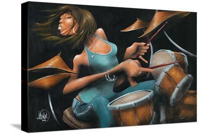 Lola Beats-David Garibaldi-Stretched Canvas Print
