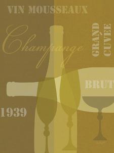 Mid Century Wine 4 by Lola Bryant