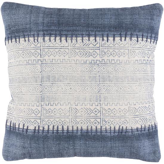 Lola Down Fill Pillow - Denim--Home Accessories