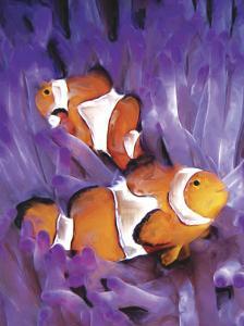 Jeweled Fish I by Lola Henry