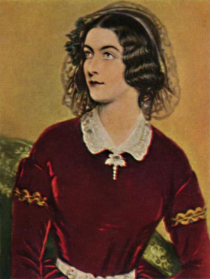 'Lola Montez 1818-1861. - Gemälde von Stieler', 1934-Unknown-Giclee Print