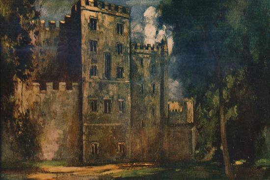'Lollard's Tower, Lambeth Palace', 1912-Unknown-Giclee Print