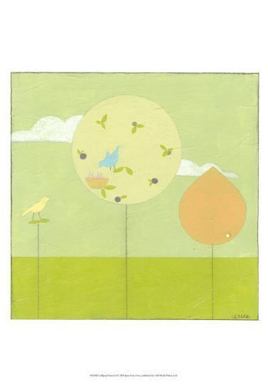 Lollipop Forest II-Erica J^ Vess-Art Print