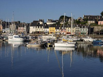 Camaret Harbour, Brittany, France, Europe