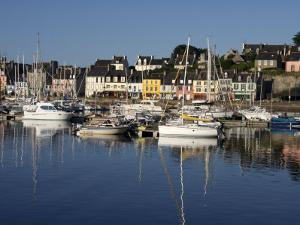 Camaret Harbour, Brittany, France, Europe by Lomax David
