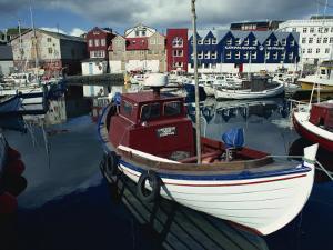 Thorshavn, Faroes, Denmark, Europe by Lomax David