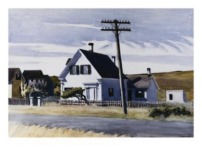 Lombard's House-Edward Hopper-Giclee Print