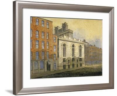 Lombard Street, City of London, 1815-William Pearson-Framed Giclee Print