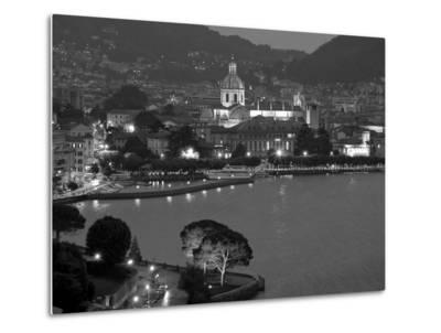 Lombardy, Lakes Region, Lake Como, Como, City View from Bellagio Road, Italy-Walter Bibikow-Metal Print