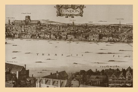 London, 1647, (1886)-Unknown-Giclee Print