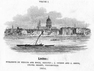 London, 1804-J Storer-Giclee Print