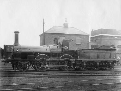London and South Western Railway (LSW) Locomotive No 148, 'Colne' with its Tender, C1880--Photographic Print