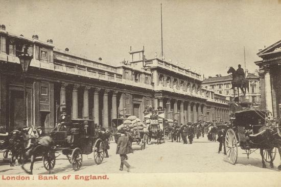 London: Bank of England--Photographic Print