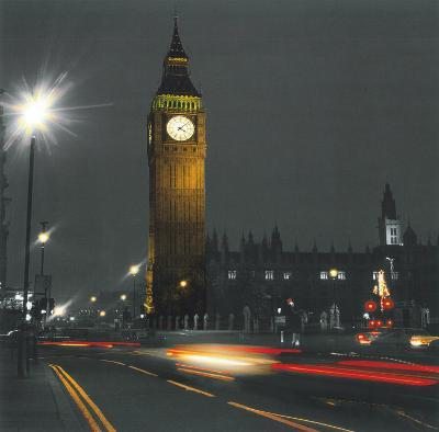London Big Ben--Art Print